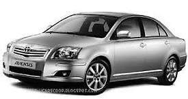 TOYOTA AVENSIS PCO D4D 2.2 DIESEL SILVER FOR SALE