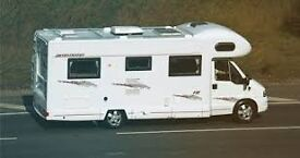 wanted motorhome or camper wanted