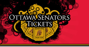 Sens Tickets for tonight's game #6 May 23