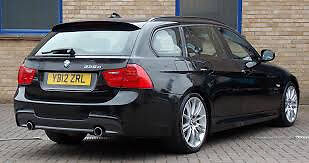 bmw e91 3 series estate msport lci rear lights tailgate bumper for sale or fitted call parts thanks