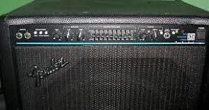 "Fender BXR Bass Combo 200 Watts 1x15"" Speaker."