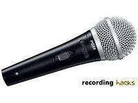 Shure PG58 mic