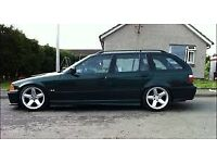 Bmw 3 series alloy wheels, rims, 17inch, 5x120 Bmw e36, concave stance slammed