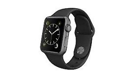 BNIB Sealed Apple Watch - Series 1 38mm Space Grey Watch with Black Sports Band
