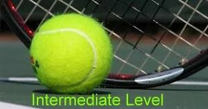 TENNIS HITTING/RALLY PARTNER  Intermediate Level