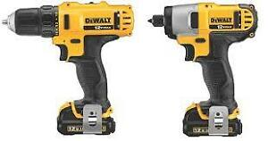 DRILL AND DRIVER COMBO