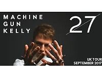 2x Machine Gun Kelly tickets for Bristol