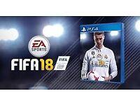 Fifa 18 ps4 4K brand new sealed