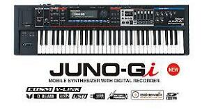 roland JUNO Gi  keyboard/mobile synthesize MINT from 2015