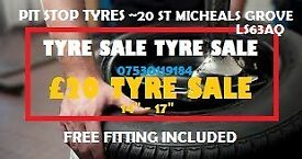 205 45 17, 215 50 17 , 225 50 17, 215 40 17 TYRES SALE FREE FITTING !!!!