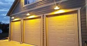 Garage Door Pro: insulated  Garage door; installed $799