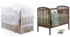 BILY- Baby I love you Crib, 3 Drawer Dresser and Change Table