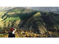 Marrakech and Atlas mountains 26th to 30th November