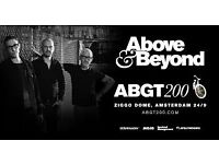 ABGT 200 TICKETS x FOUR