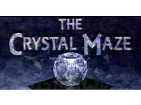 Cyrstal Maze Experience Tickets - Team of 8 (will sell seperatley as 4 tickets have been paid for)
