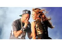 4 x Seated Jay-Z and Beyoncé tickets @ Cardiff Weds 6th June