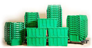 COMMERCIAL STOREAGE BINS BOXES  WEEKLY RATES