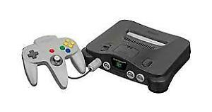 n64 console and n64 game Harvest moon for sale