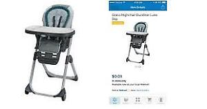 Free high chair -  great condition
