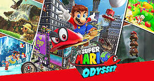 WANTED: Super Mario Odyssey
