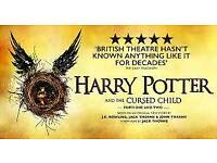 2 Harry potter and cursed child tickets