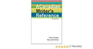 A Canadian's writer Reference