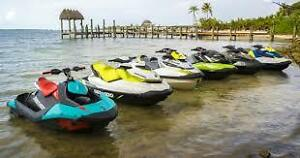 2017 SEA-DOO  LIST (BELOW) WITH PAYMENTS & ALL MODELS