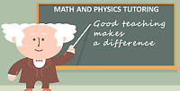 Math and Physics tutoring ($30 per hour)