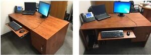 Great office desks - must go today by 4 pm