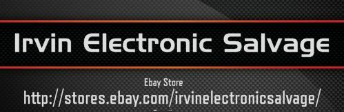 Irvin Electronic Salvage