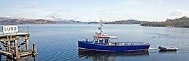 scotsman luss village' iconic passenger tourist boat for 20 years plus