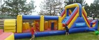 40' Inflatable Obstacle Course for Rent!