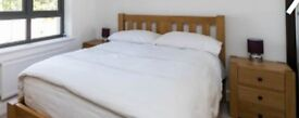 Double Bed, Luxury Mattress, 2 Bedside Cabinets, Chest of Drawers