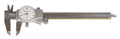 Mitutoyo Dial Type Caliper Range 0 12 With Case New 505-677