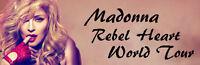 4 Très bons billets Madonna prix coutant