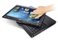 VERY NICE DELL TX2 LAPTOP AND TABLET