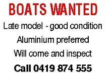 BOATS WANTED!!! Heatherbrae Port Stephens Area Preview