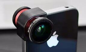 Cool Olliclip lens (fisheye) for iPhone Edmonton Edmonton Area image 1