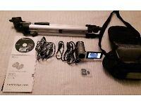 SONY HANDYCAM w/ Tripod, camera bag and 16 Gb Memory Card