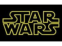 Star Wars cinema ticket at Vue on Thursday 14th December 8:45pm