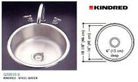 Round Sink (new) Kindred QSR18/8