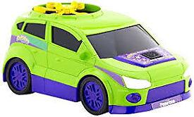green remote toy car