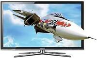 TV LED SAMSUNG 55'' 3D FULL HD 120hz..BOITE ORIGINALE