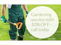 Garden Services/Grass cutting, Hedge trimming, Jet Cleaning, General maintenance North London