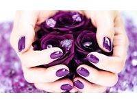 Gel nails-beauty treatments