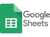 Google Sheets Lessons   Private Remote Lessons   Tuition by an Expert   Google Drive