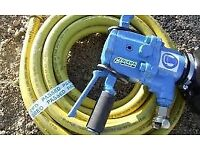 compressor hose with fittings for large road breaker 15ft
