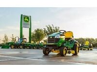 John Deere gardening machinery at lowest prices!