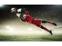 PLAY FOOTBALL (LOOKING FOR GOALKEEPER)