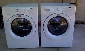FRIGIDAIRE Front Load Washer and Dryer  $ 700 Like New with Stands   - Used Appliance SALE
